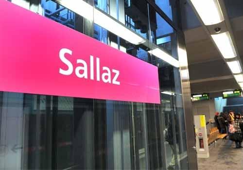 La Salle Lausanne proche de l'arrêt m2 sallaz