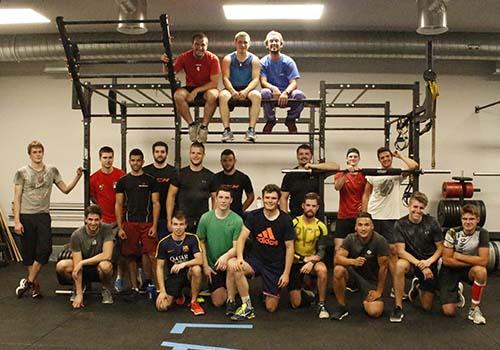 vallée de joux hockey club s'entraine à La Salle Lausanne coaching de groupe